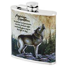 Фляга American expedition Gray wolf 6 oz (180 мл)