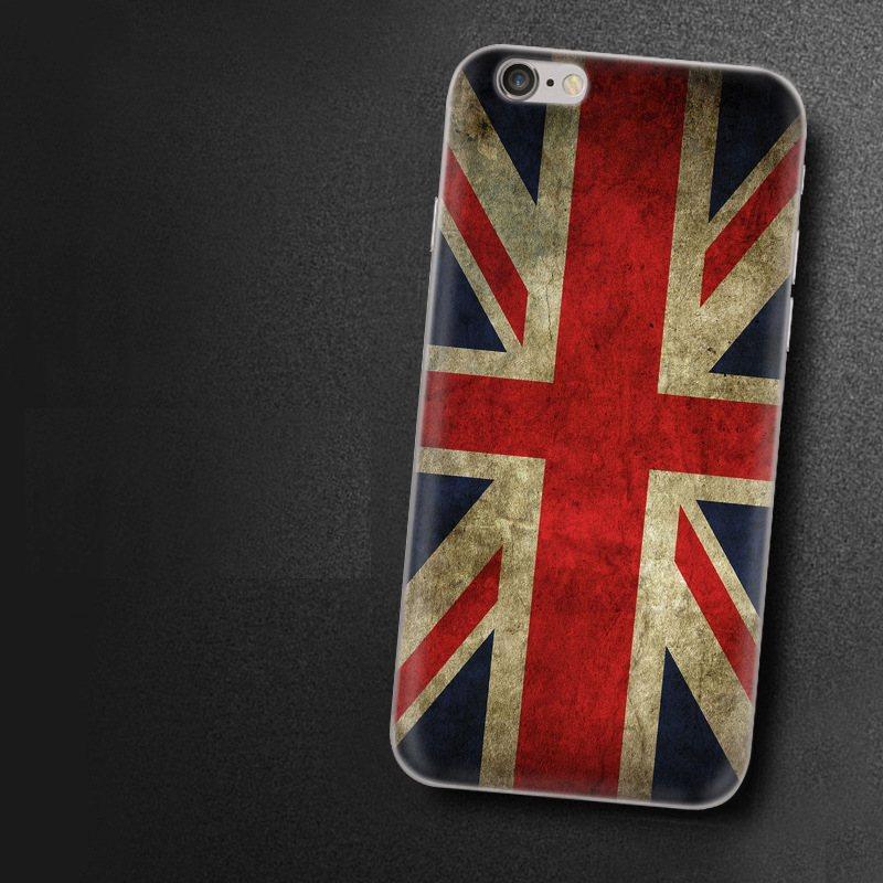 Чехол-накладка TPU Image England для iPhone 6/6S