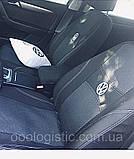 Авточехлы Ника на передние сидения Volvo FH EVRO 3 от 2002 года 1+1, фото 10
