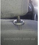 Авточехлы Ника на передние сидения Volvo FH EVRO 3 от 2002 года 1+1, фото 3