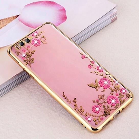 Чехол силиконовый TPU Glaze gold для Xiaomi Mi 6