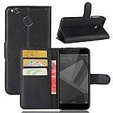 Чехол-книжка Bookmark для Xiaomi Redmi 4X black, фото 4