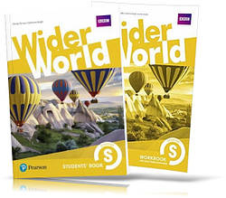 Wider World Starter, Student's book + Workbook / Учебник + Тетрадь английского языка
