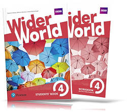 Wider World 4, Student's book + Workbook / Учебник + Тетрадь английского языка