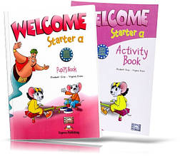 Welcome Starter А, Pupil's book + Workbook / Учебник + Тетрадь английского языка