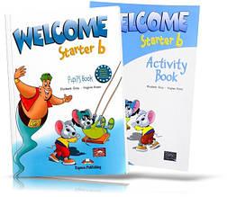 Welcome Starter B, Pupil's book + Workbook / Учебник + Тетрадь английского языка