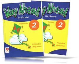 Way Ahead for Ukraine 2, Pupil's book + Workbook / Учебник + тетрадь английского языка