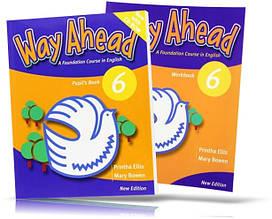 Way Ahead 6, Pupil's book + Workbook + CD / Учебник + тетрадь английского языка