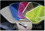 Нано-коврик антискользящий в авто NANO, Pad Anti-Slip blue (синий), фото 2