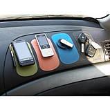 Нано-коврик антискользящий в авто NANO, Pad Anti-Slip blue (синий), фото 4