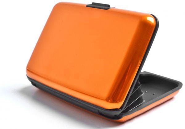 Кошелек-кредитница Aluma Wallet orange