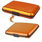 Кошелек-кредитница Aluma Wallet orange, фото 2