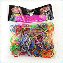 Набор резинок для браслетов микс 300 штук Rainbow Looms
