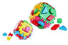 """Игрушка детская куб """"Умный малыш 1+1 ТехноК"""""""