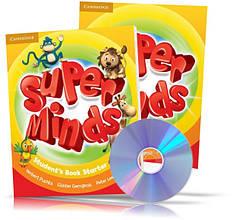 Super Minds Starter, student's + Workbook + DVD / Підручник + Зошит (комплект з диском) англійської мови