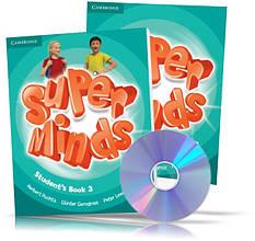 Super Minds 3, student's + Workbook + DVD / Підручник + Зошит (комплект з диском) англійської мови