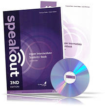 Speakout Upper-Intermediate, Student's book + Workbook + DVD / Учебник + Тетрадь английского языка