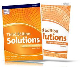 Solutions Upper-Intermediate, student's book + Workbook / Підручник + Зошит англійської мови