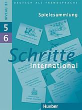 Schritte International 5 + 6, Spielesammlung / Навчальний посібник з німецької мови