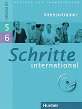 Schritte International 5 + 6, Intensivtrainer / Тести до підручника з диском німецької мови