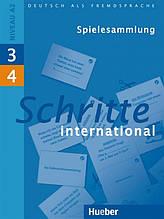 Schritte International 3 + 4, Spielesammlung / Навчальний посібник з німецької мови