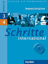 Schritte International 3 + 4, Intensivtrainer / Тести до підручника з диском німецької мови