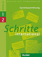 Schritte International 1 + 2, Spielesammlung / Навчальний посібник з німецької мови