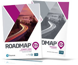 Roadmap B1+, Student's Book + Workbook / Учебник + Тетрадь английского языка