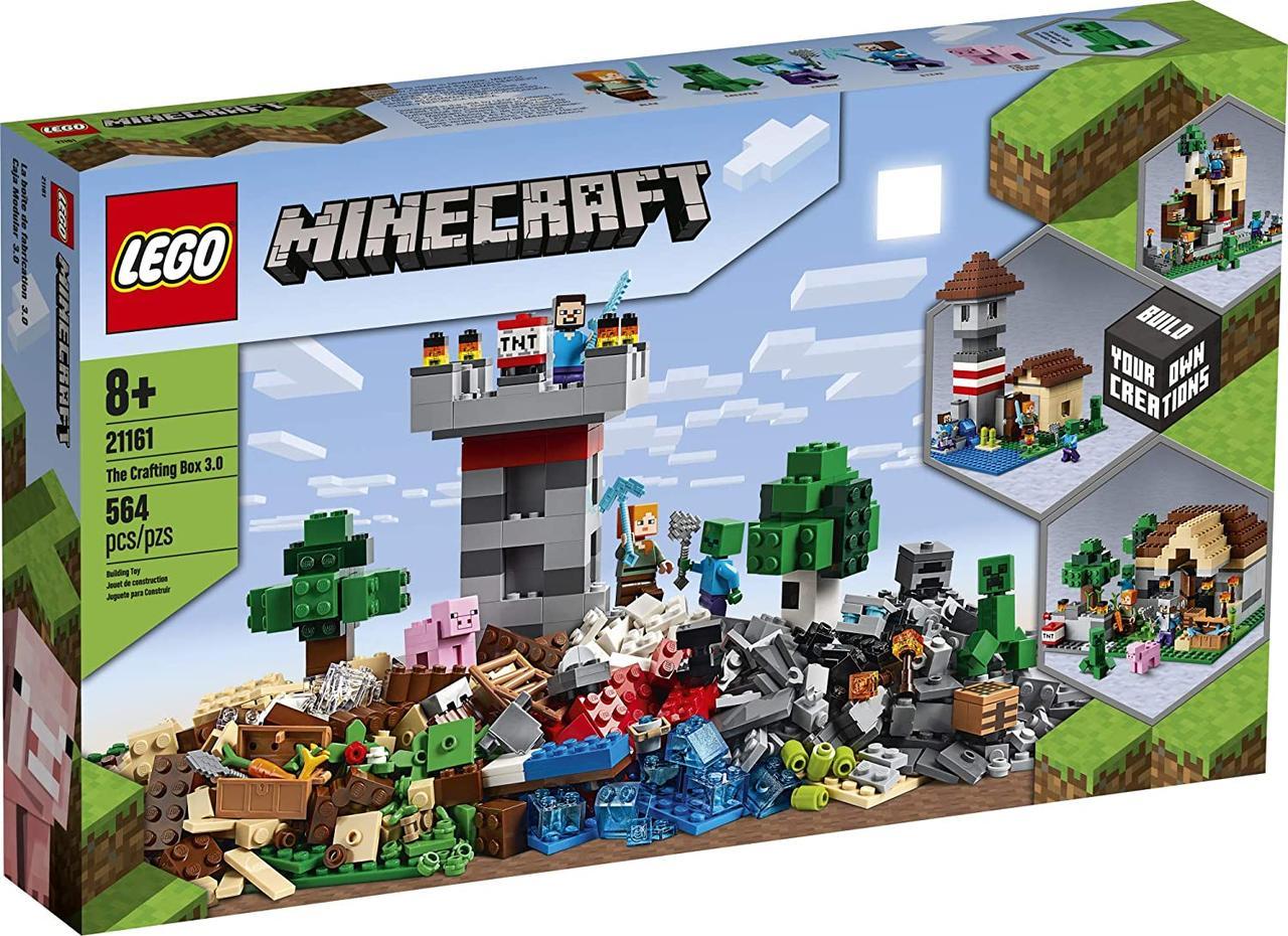 Lego Minecraft Верстак 3.0 (21161)