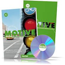 Motive A2, Kursbuch + Arbeitsbuch + CD / Учебник + тетрадь (9-18) комплект с диском немецкого языка