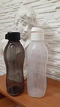 Набор эко-бутылок 1 л 2 шт Tupperware черная и белая красивый удобный набор