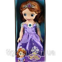 Набор платье принцессы Софии и Кукла Принцесса София музыкальная со светом, фото 3