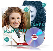 Menschen B1.2, Kursbuch + Arbeitsbuch / Учебник + Тетрадь (комплект с дисками) немецкого языка