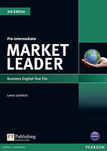 Market Leader Pre~Intermediate, Test File / Тесты английского языка
