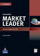 Market Leader Intermediate, Test File / Тесты английского языка
