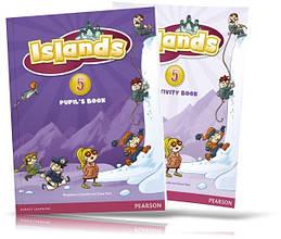 Islands 5, Pupil's book + Activity Books + Pincode / Учебник + Тетрадь английского языка
