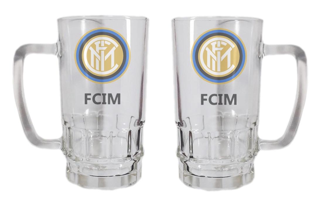 Бокал для пива стеклянный ФК Интер Милан
