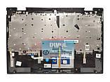Оригинальная клавиатура для ноутбука Lenovo Yoga 720-12IKB, 720-12ISK series, rus, gray, серая передняя панель, фото 2