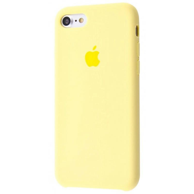 Чехол Silicone Case (Premium) для iPhone 7 / 8 / SE Mellow Yellow
