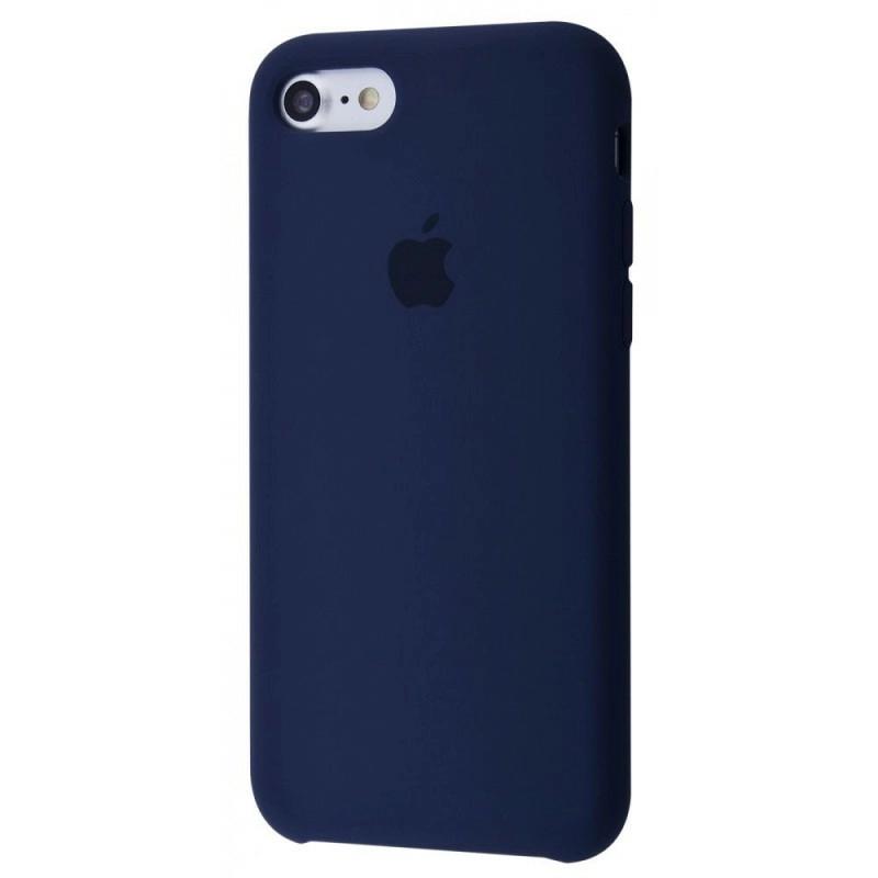 Чехол Silicone Case (Premium) для iPhone 7 / 8 / SE Midnight Blue