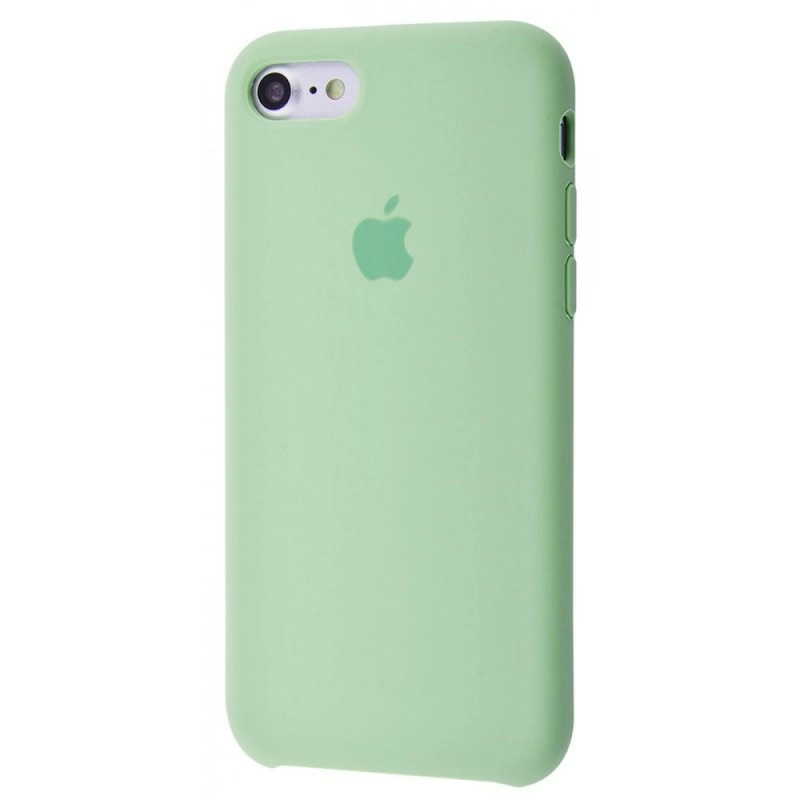 Чехол Silicone Case (Premium) для iPhone 7 / 8 / SE Mint