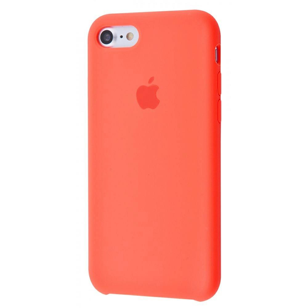 Чехол Silicone Case (Premium) для iPhone 7 / 8 / SE Nectarine