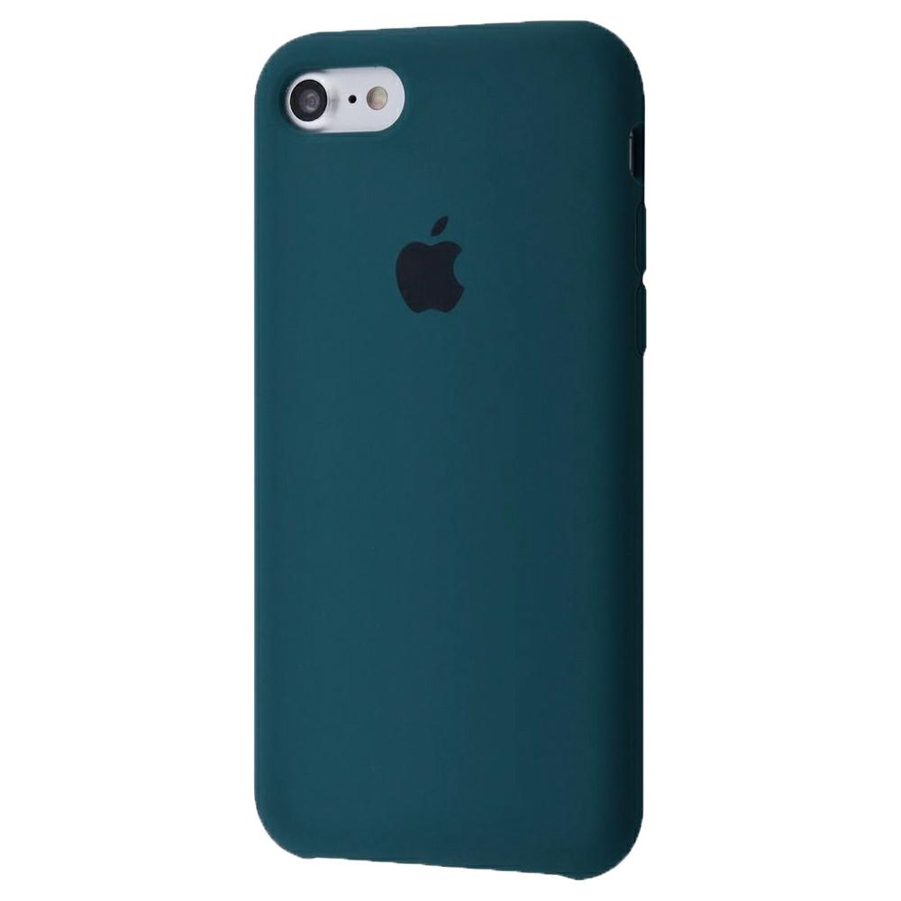 Чехол Silicone Case (Premium) для iPhone 7 / 8 / SE Pacific Green