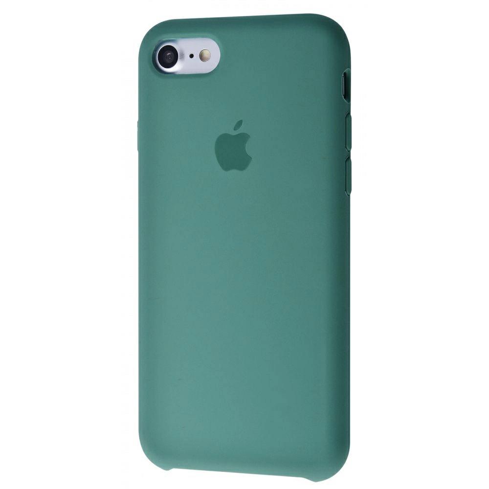 Чехол Silicone Case (Premium) для iPhone 7 / 8 / SE Pine Green