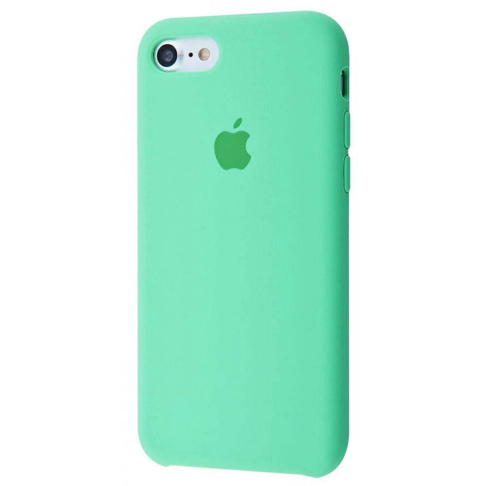 Чехол Silicone Case (Premium) для iPhone 7 / 8 / SE Spearmint