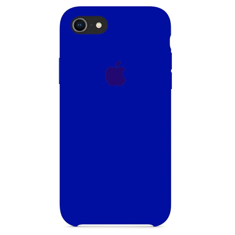 Чехол Silicone Case (Premium) для iPhone 7 / 8 / SE Ultra Violet