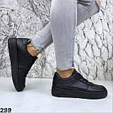 Кроссовки женские черные 299, фото 5