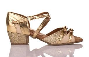 Танцевальная обувь для девочек (Блок-каблук)