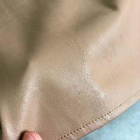 Юбка кожаная миди. Модель 76421, фото 9