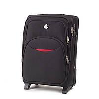 Дорожный тканевый чемодан Wings 1708  размер S (ручная кладь) черный